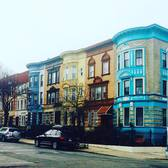 The most colorful block in #brooklyn