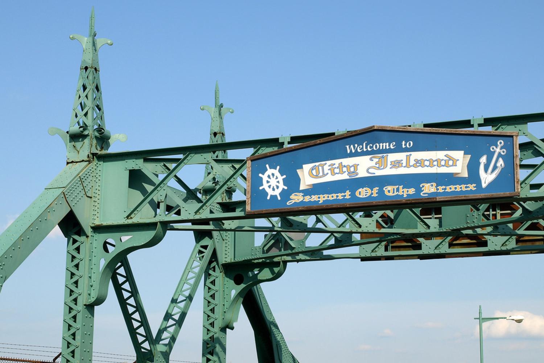 City Island Bridge over Pelham Bay Narrows, Bronx, New York City