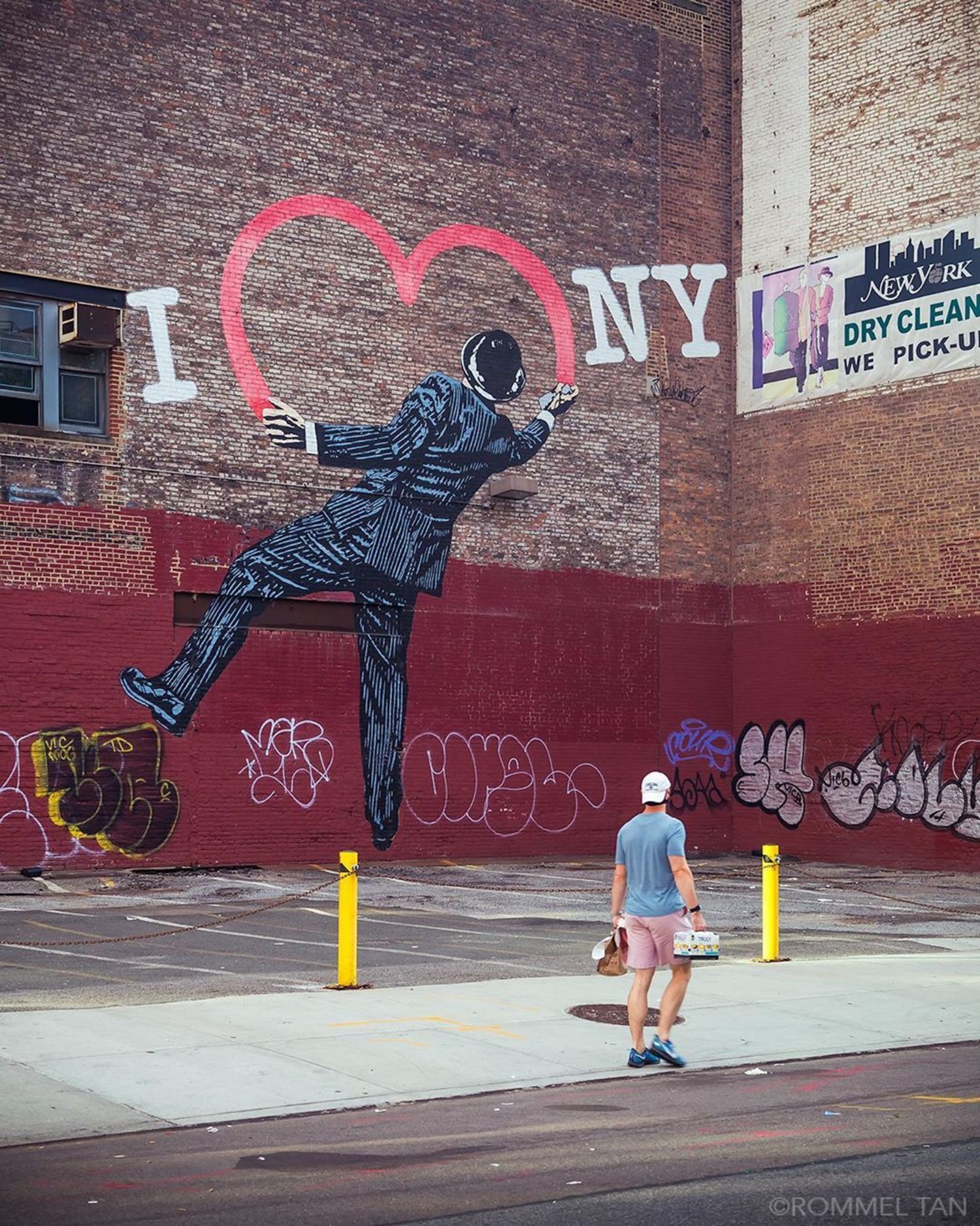 """""""I Love New York"""", Nick Walker, 17th Street and 6th Ave, Manhattan"""