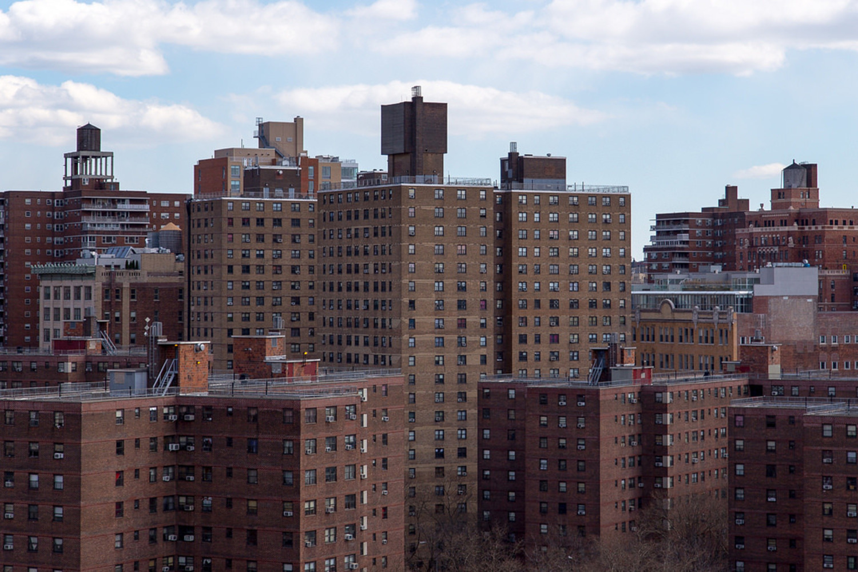 New York City Housing Authority buildings in Chelsea, Manhattan