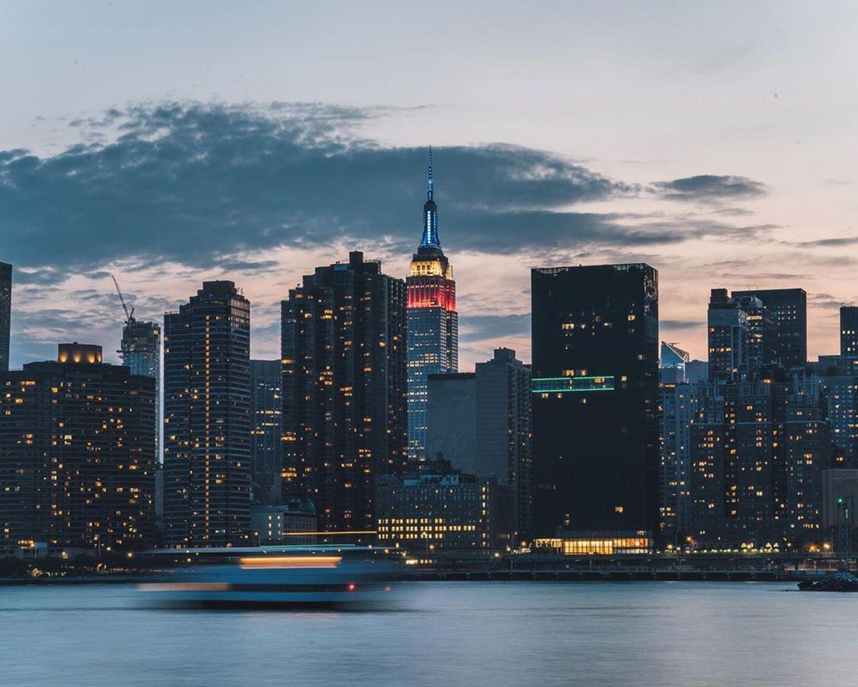 Midtown, Manhattan from Long Island City, Queens