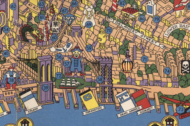 Wonders of New York (detail)
