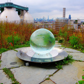 Crystal Ball, Kingsland Wildflower, Brooklyn