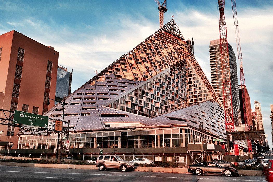 Affordable Housing in Bjarke Ingels' Midtown Pyramid ...