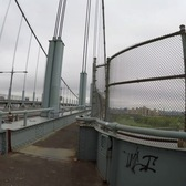 ⁴ᴷ Walking over the Robert F. Kennedy (Triboro) Bridge to Randall's/Ward's Island (GPS Overlay)