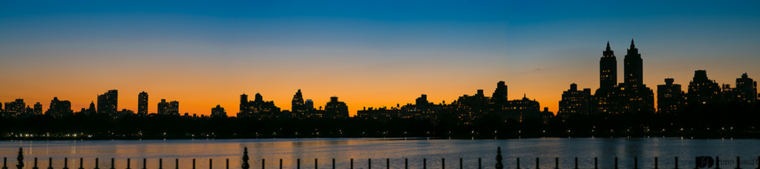 """Upper West Side skyline 