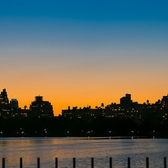 "Upper West Side skyline | Was walking in Central Park yesterday afternoon, and I got to this spot at the blue hour...  My battery was dying, and realized as I got to the reservoir. My last chance to capture a good image that day, had literally the seconds counted...  Handheld - Made it with a manual Rokinon 85mm f/1.4 and 8 exposures.   <a href=""http://www.GimoNasiff.com"" rel=""nofollow"">www.GimoNasiff.com</a>"