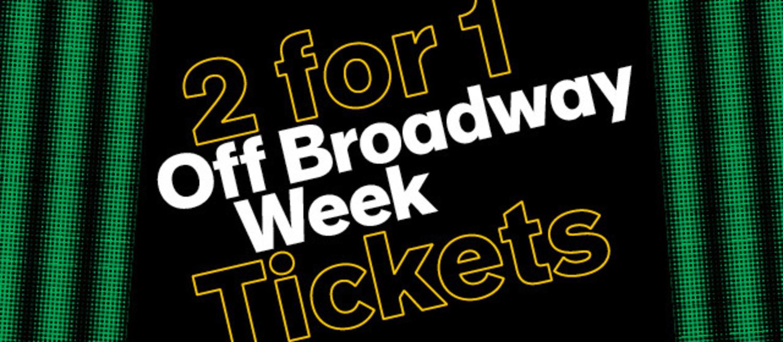 NYC Off Broadway Week 2016