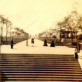 Central Park Mall, New York, New York ca. 1870