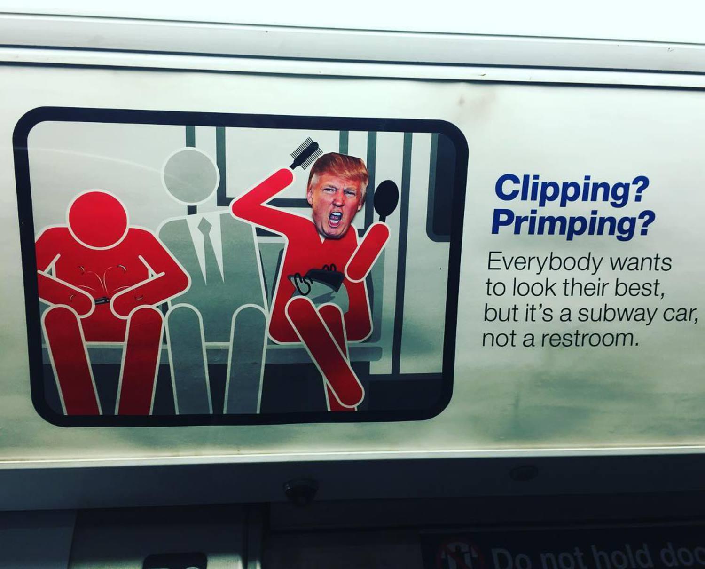 #newyorkcity #newyork #NYC #subway #mta #makeamericagreatagain #gofuckyourself #donaldtrump @realdonaldtrump @gothamist @gawker @huffingtonpost
