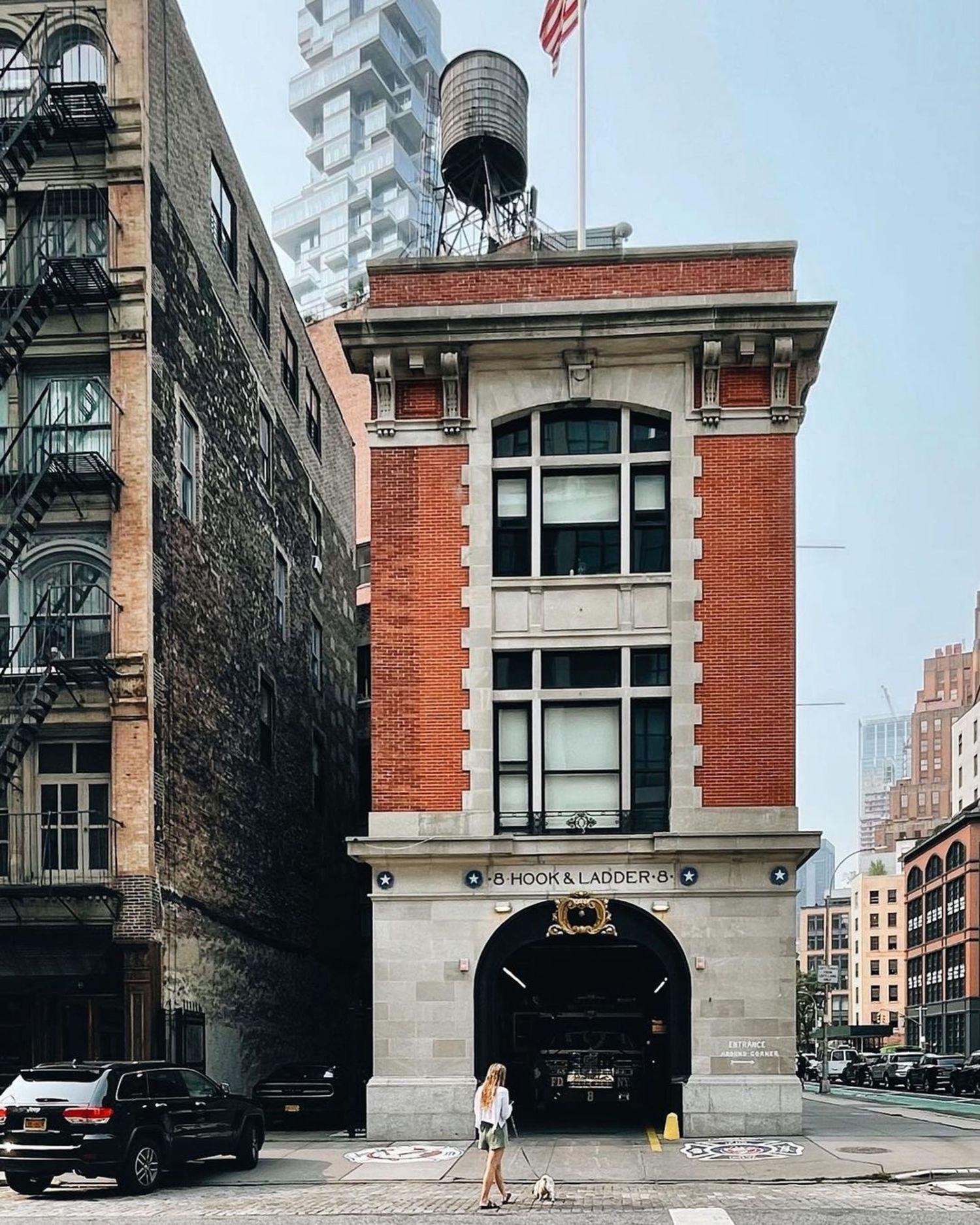 Hook & Ladder 8, Tribeca, Manhattan
