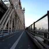 ⁴ᴷ⁶⁰ Walking to Central Park from Long Island City, Queens, NYC via Ed Koch Queensboro Bridge