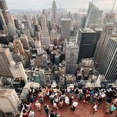 View from the Top of the Rock, Midtown, Manhattan
