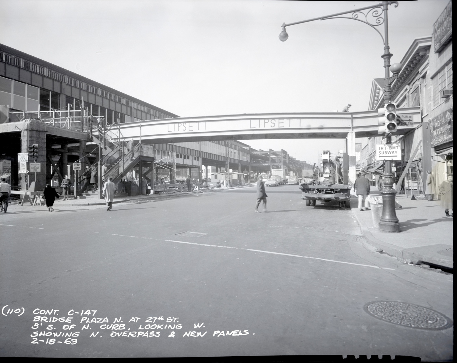 Queensboro Plaza Overpass 1963