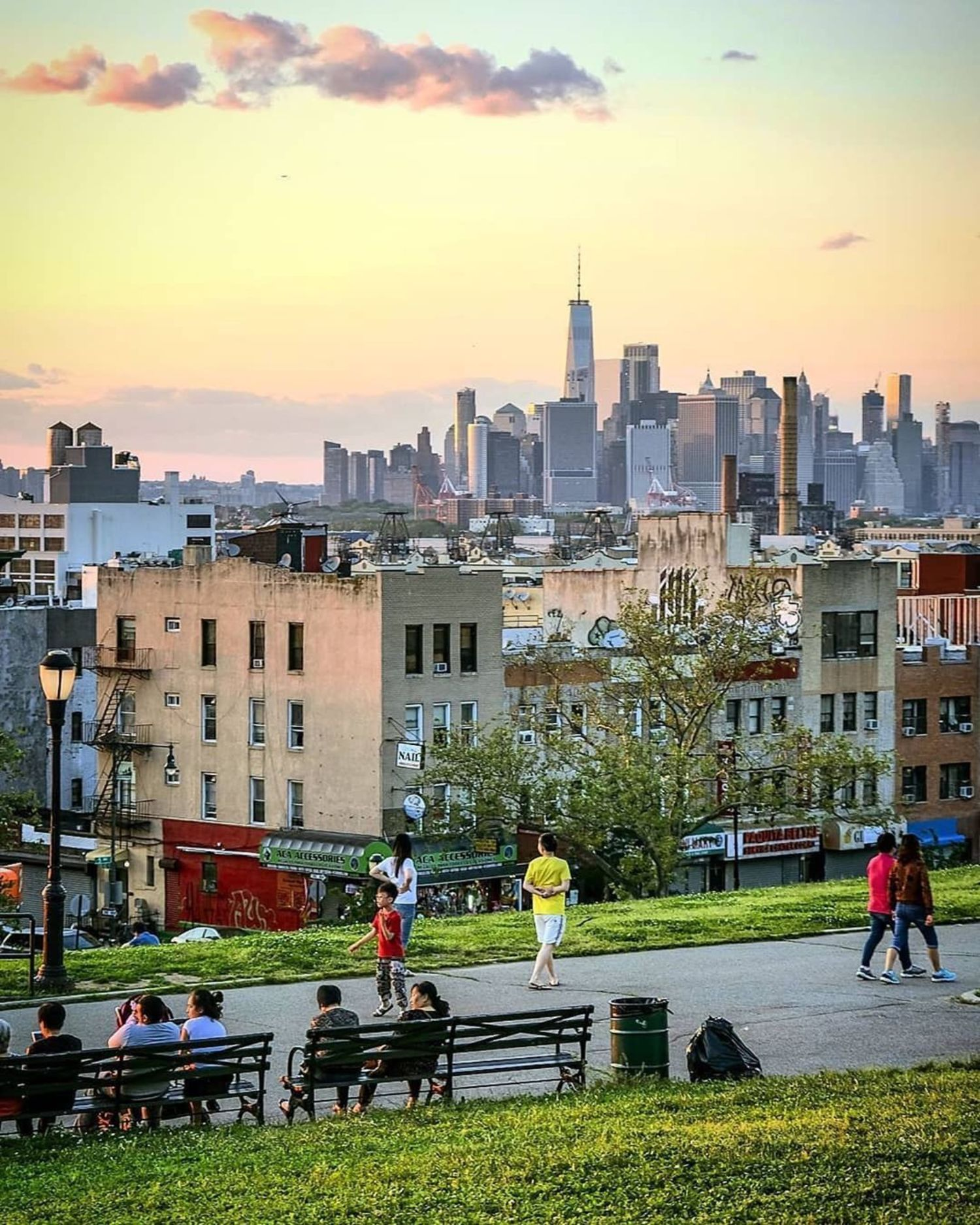 Sunset Park, Brooklyn.