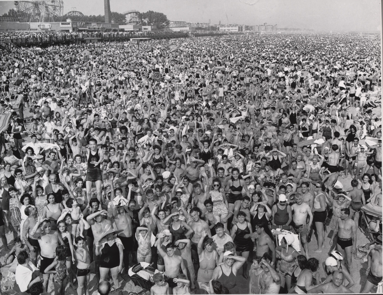 Coney Island Beach, July 22, 1940