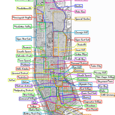 Neighborhoods in Manhattan, NYC