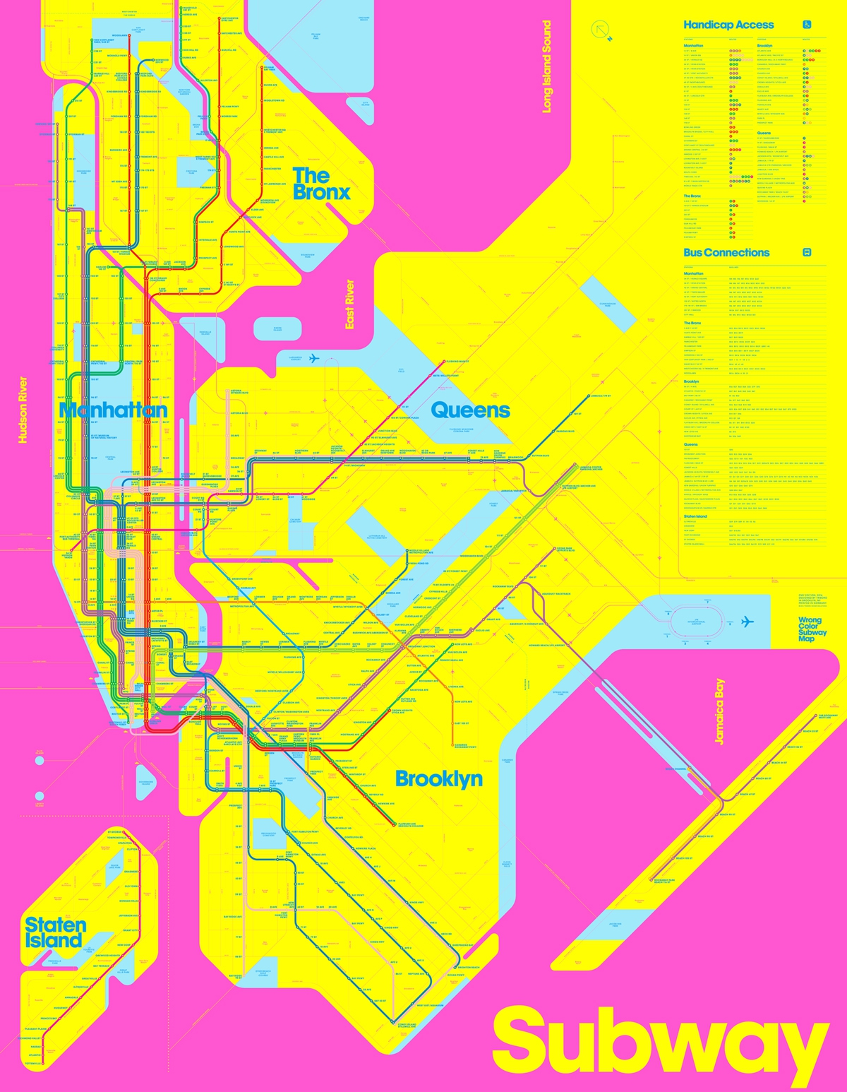 Manhattan Mta Mini Subway Map And Address Finder.Viewing Nyc