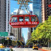 Roosevelt Island Tram over 2nd Avenue, Midtown East, Manhattan
