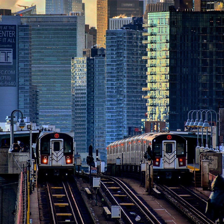 46th Street-Bliss Street Station, Sunnyside, Queens, New York