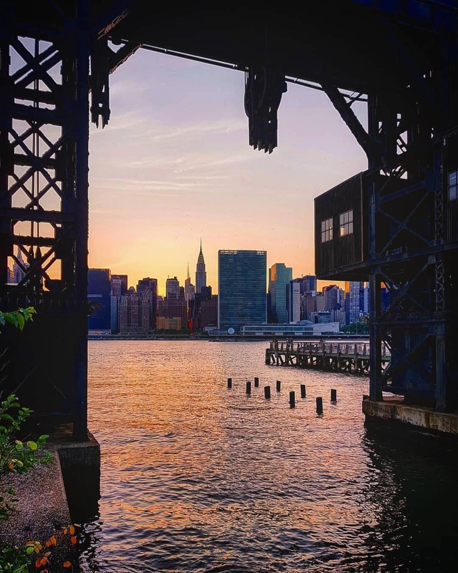 New York, New York. Photo via @brunobrasileiro #viewingnyc #newyork #newyorkcity #nyc
