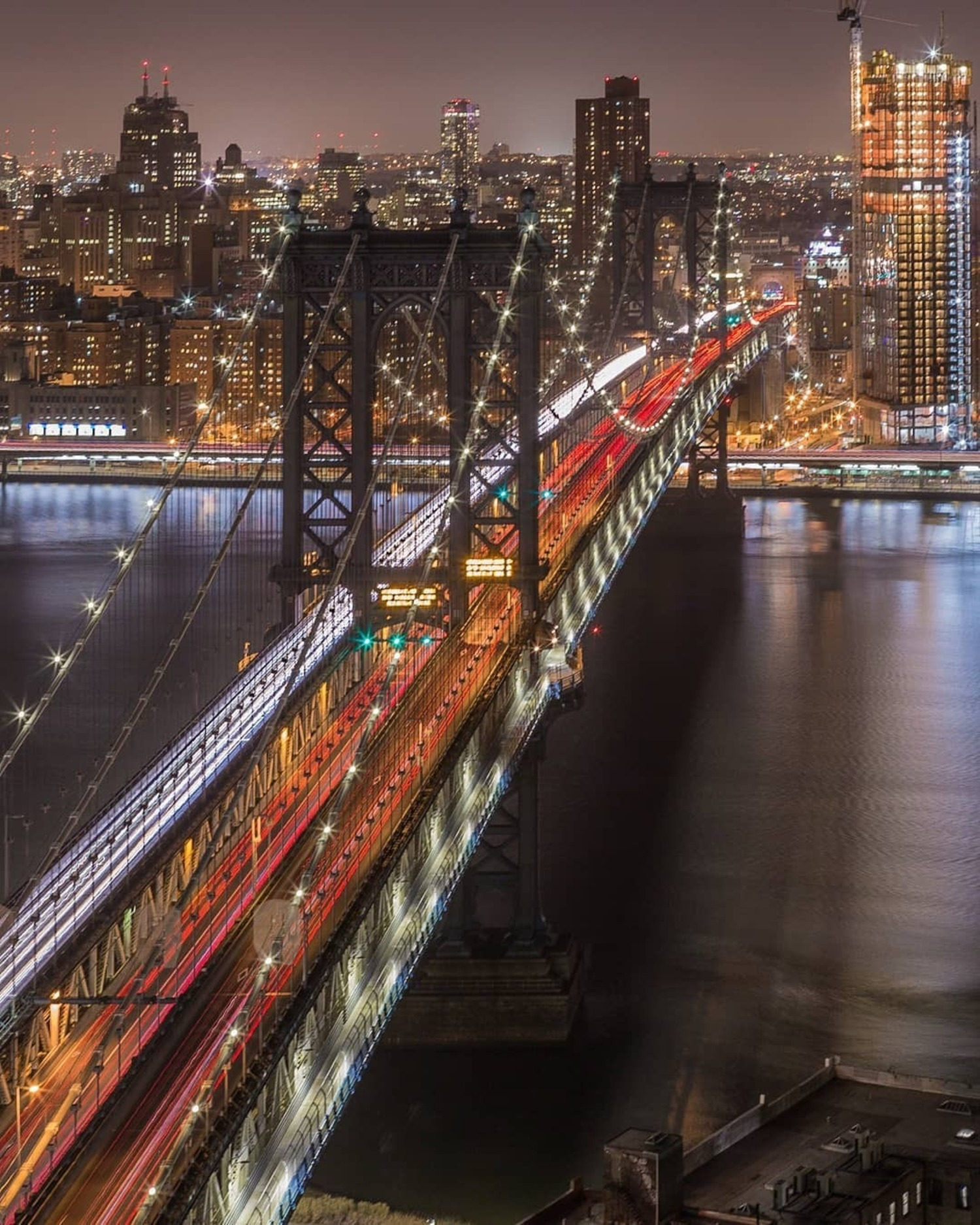Manhattan Bridge, New York, New York