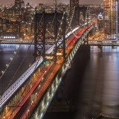 Manhattan Bridge, New York, New York