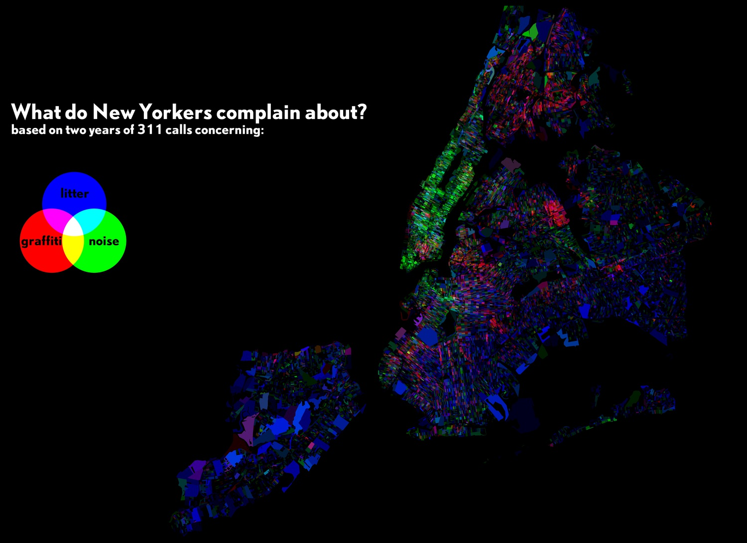 New Yorkers' Complaints to 311