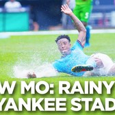 Slow Mo: Rainy Day at Yankee Stadium