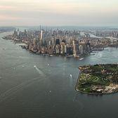 Lower Manhattan and Governors Island, New York