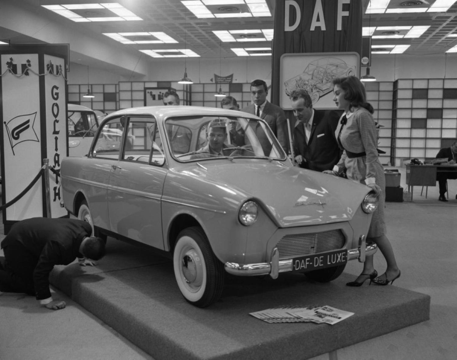 Let's go Dutch! Little-known Dutch automaker, DAF, shows off the De Luxe model at the International Auto Show.