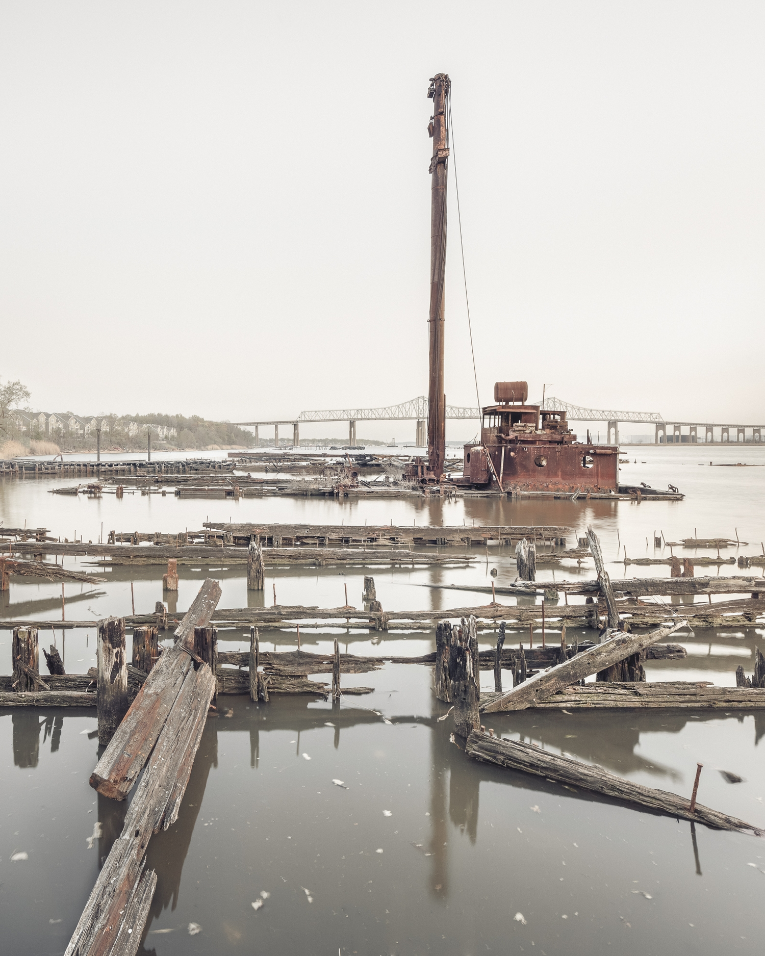 """The borough is home to several lesser-known """"boat graveyards"""" in addition to the famous Rossville salvage yard."""