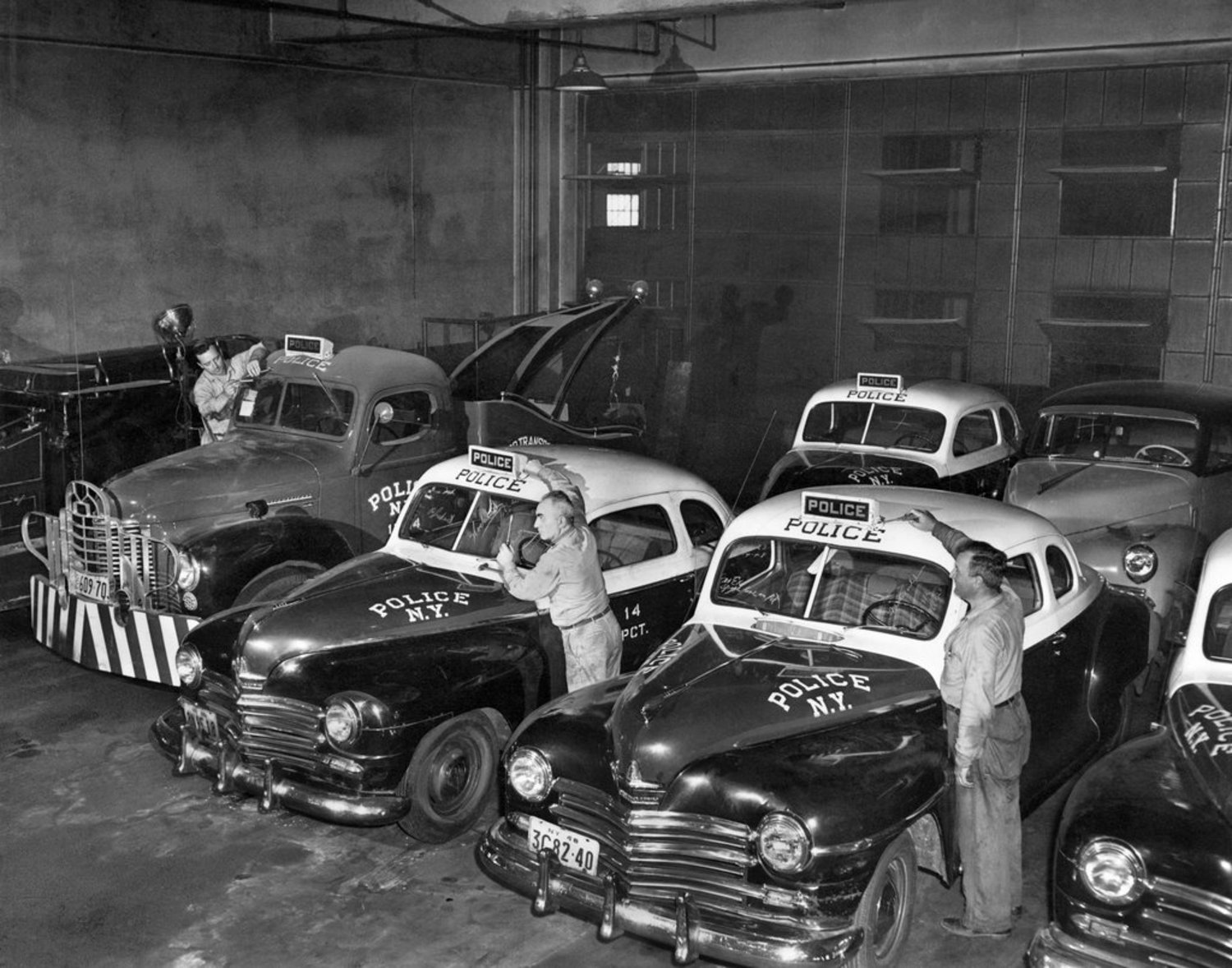 NYPD Police Cars, 1949