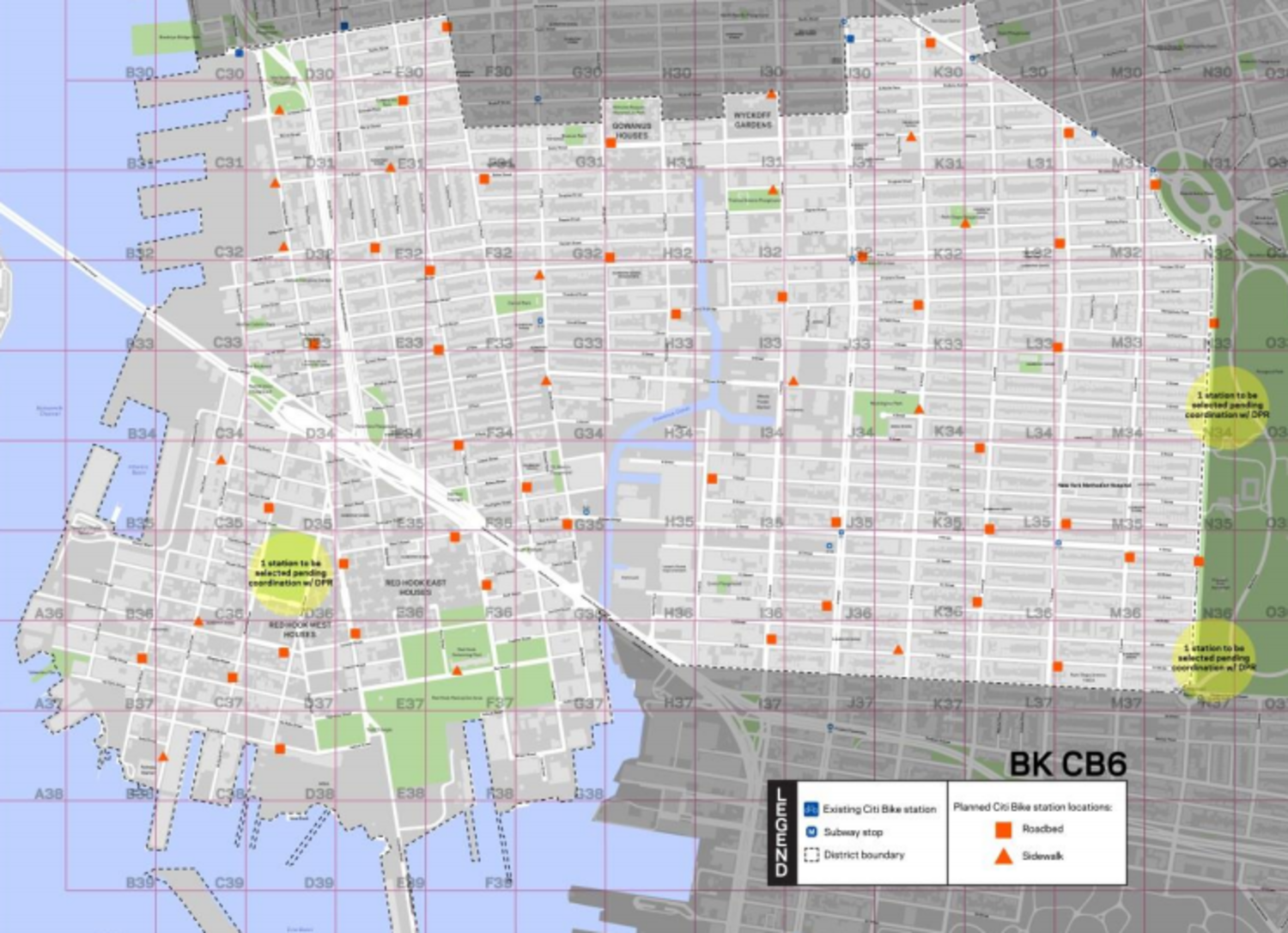 There will be more bike-share stations in Brooklyn Community Board 6 than this map indicates.