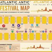 Atlantic Antic 2017 Festival Map