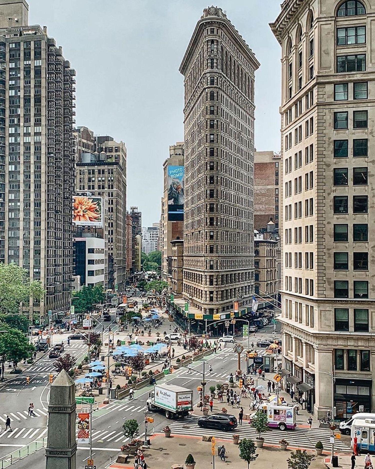 Flatiron Building, Manhattan.