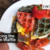 Freedom Waffle sandwich