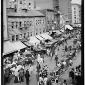 Jewish market on the East Side, New York, N.Y. ca. 1895