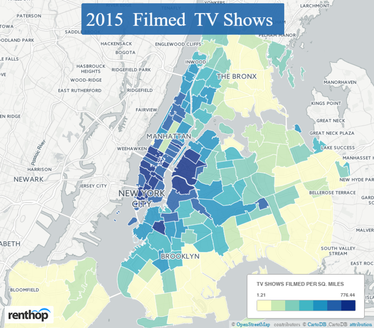 Maps Show What New York City Neighborhoods Television and