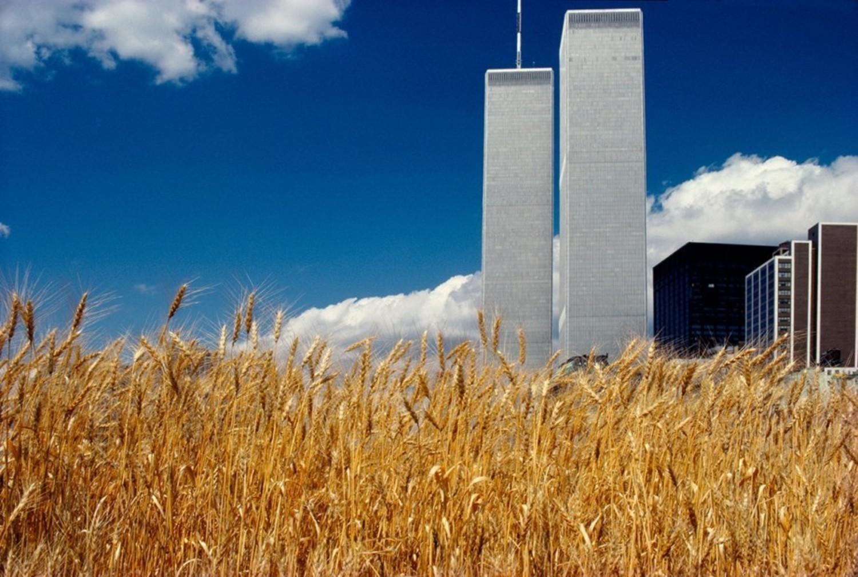 Blue sky, World Trade Center