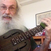 Messiahsez Sings The F Train Blues In Open D. I Call The Technique The Train Beat. Lesson Soon!