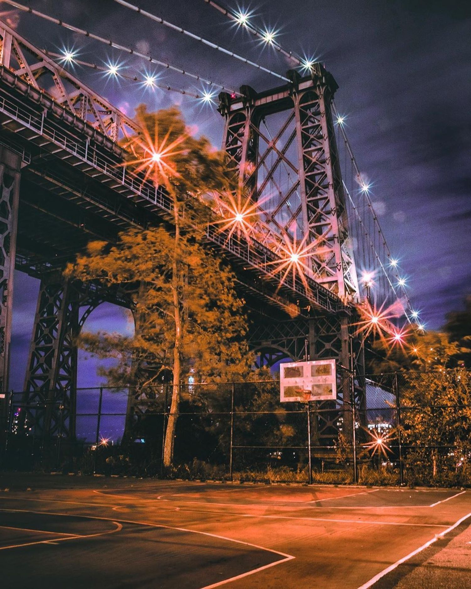 Williamsburg Bridge, Lower East Side