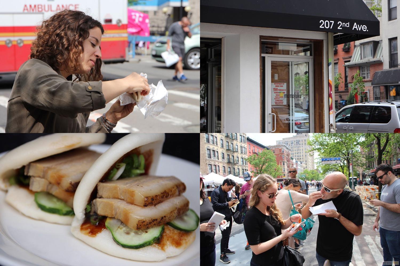 Momofuku Ssäm Bar   2016 Viewing NYC East Village Pork Bun Crawl