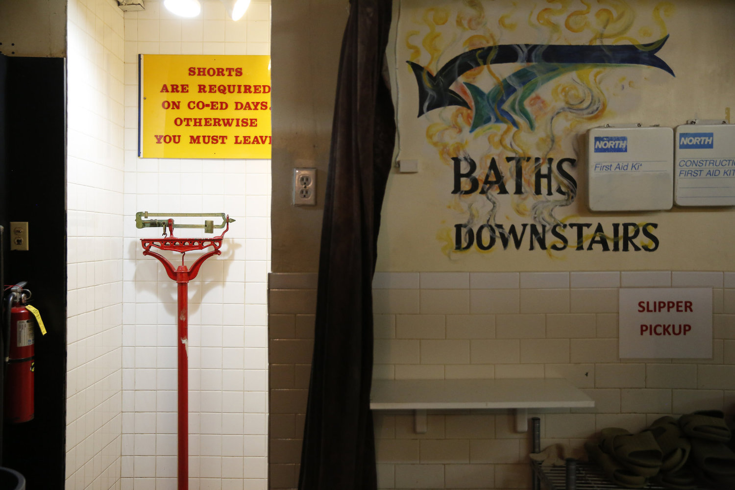 The storied baths are housed in the basement of an East Village tenement. Women were allowed just one day a week until the 1980s, when Mr. Tuberman and Mr. Shapiro gradually made nearly every day coed.