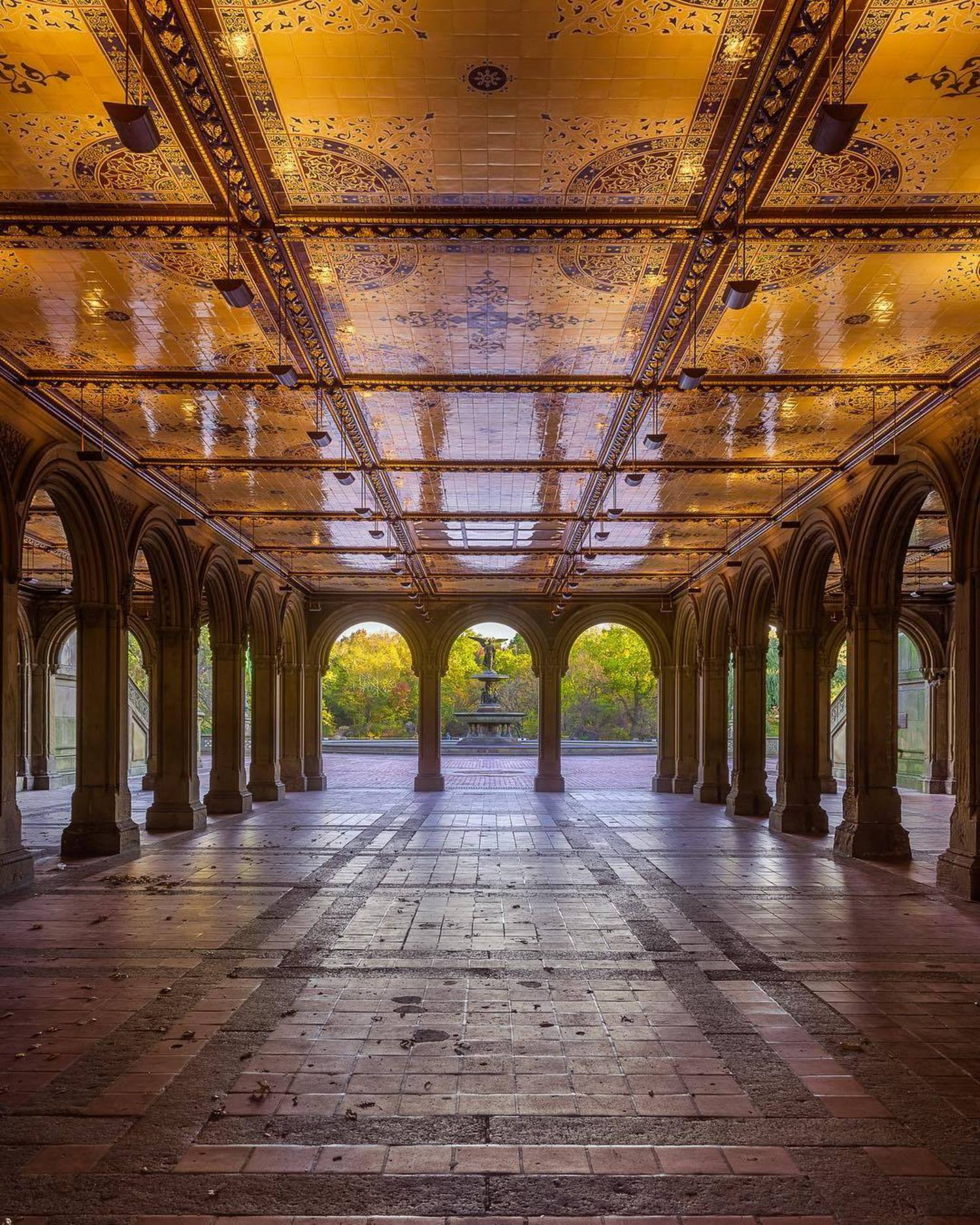 Bethesda Terrace and Fountain, Central Park, New York