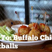 How To: Make Buffalo Chicken Meatballs