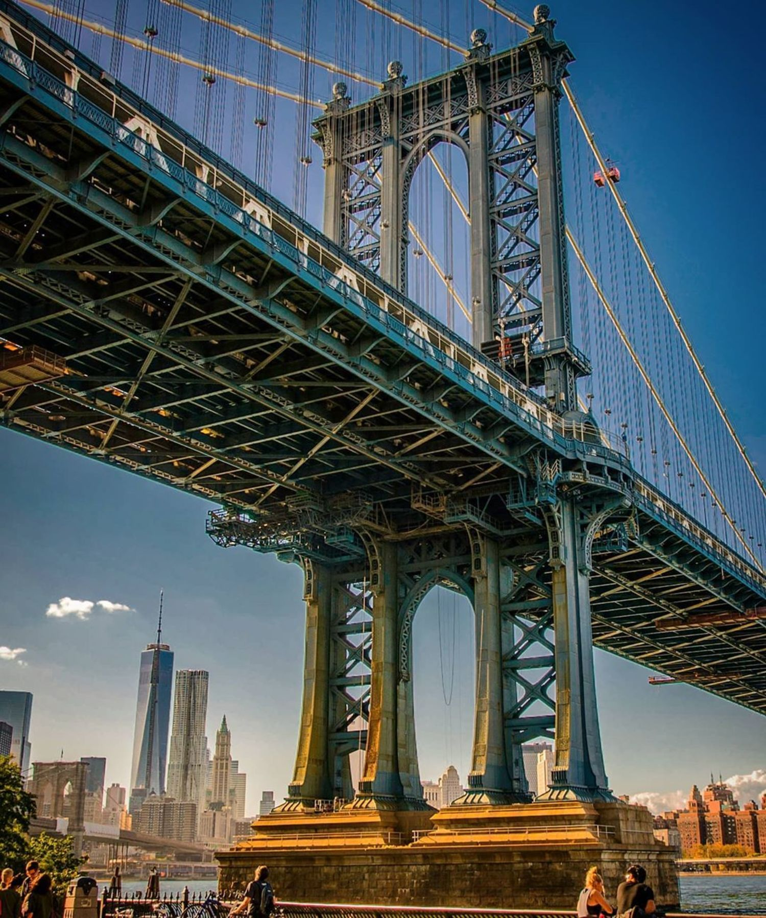 Manhattan Bridge, Brooklyn, New York