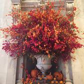 Autumnal flowers currently on display in the Great Hall. #metmuseum 🍂🎃