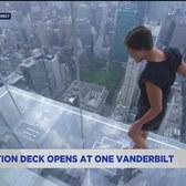 Observation deck opens at One Vanderbilt
