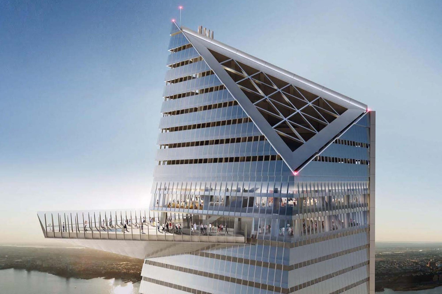 See Hudson Yards' Towering Open Air Observation Deck